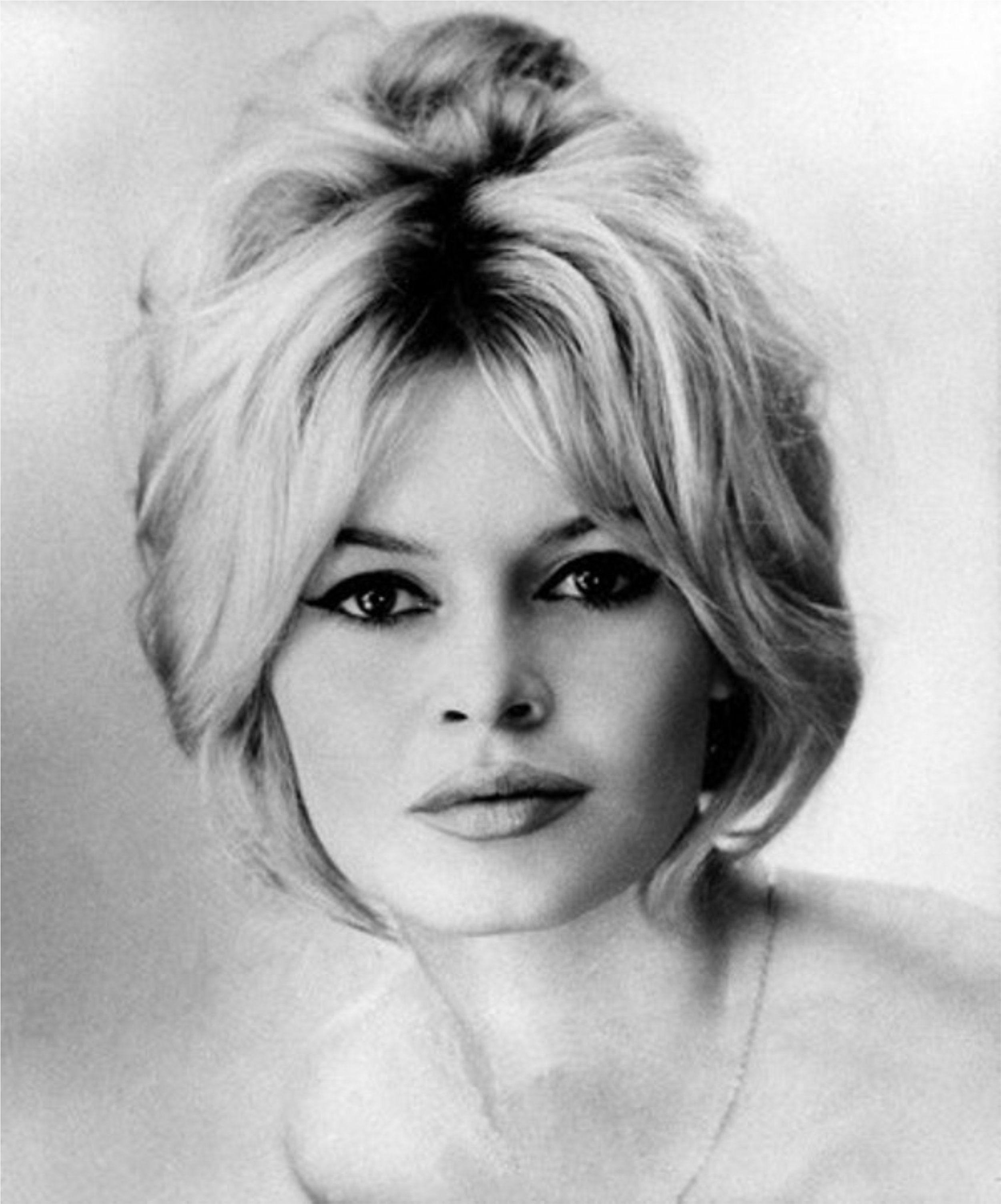 Hairstyle: Brigitte Bardot