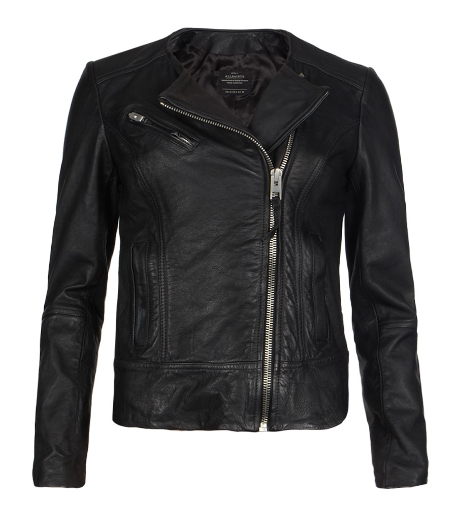 All SaintsLavine Leather Biker Jacket